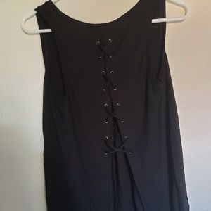 NWT Express One Eleven Lace-Up Back London Tank